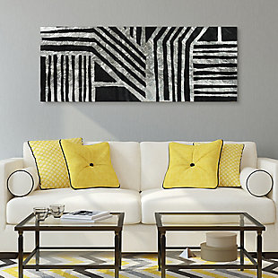 Empire Art Direct Nokomis B Tempered Glass Wall Art with Silver Leaf, , rollover