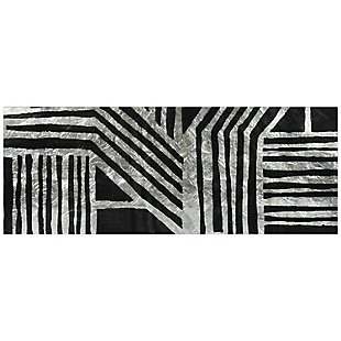 Empire Art Direct Nokomis B Tempered Glass Wall Art with Silver Leaf, , large