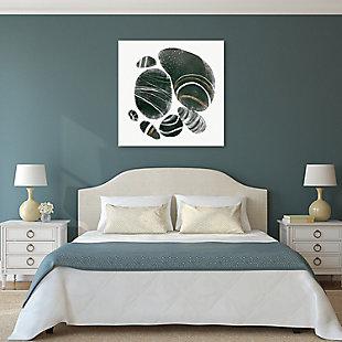 Empire Art Direct Mineralize I Frameless Free Floating Tempered Art Glass Wall Art, , rollover