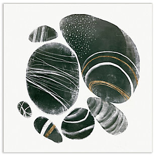Empire Art Direct Mineralize I Frameless Free Floating Tempered Art Glass Wall Art, , large