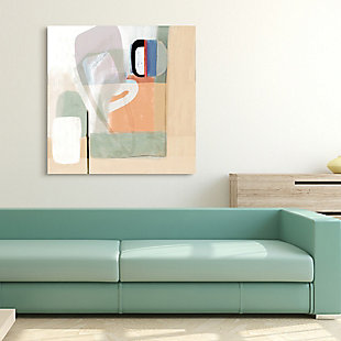 Empire Art Direct Multiform I Frameless Free Floating Tempered Art Glass Wall Art, , rollover