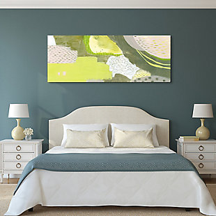 Empire Art Direct Sun Fleck Frameless Free Floating Tempered Art Glass Wall Art, , rollover