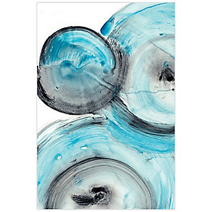 Empire Art Direct Ripple Effect IV Frameless Free Floating Tempered Glass Panel Graphic Wall Art, , large