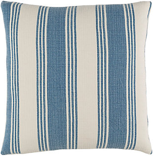 "Anchor Bay Nautical Stripe 18"" Throw Pillow, , large"