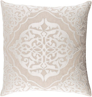 "Adelia Medalian 22"" Throw Pillow, , rollover"