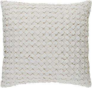 """Ashlar Textured 18"""" Throw Pillow, , large"""