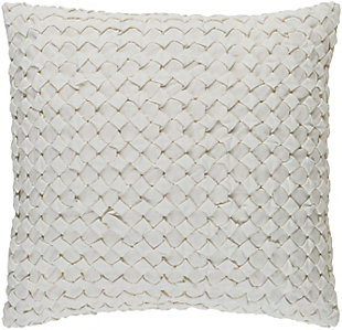 "Ashlar Textured 22"" Throw Pillow, , rollover"
