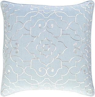 """Adagio Floral Design 18"""" Throw Pillow, , large"""