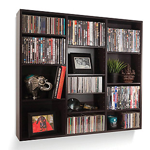 ATLANTIC Oskar Wall-Mounted Media Storage Cabinet, , large