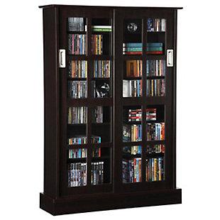 ATLANTIC Windowpane Media Cabinet (576-CD Capacity), , large