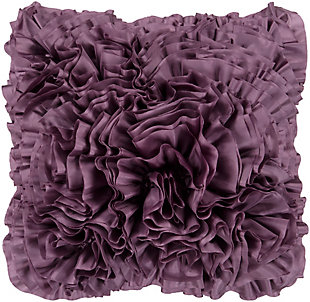 "Prom Ruffle 18"" Throw Pillow, , large"