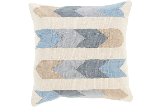 "Algodon Tribal Design 18""  Throw Pillow, , large"