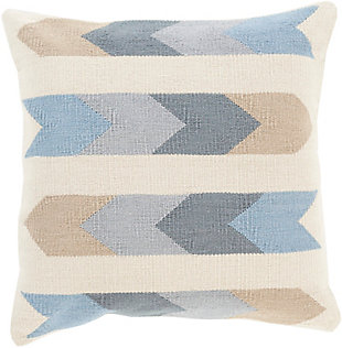 "Algodon Tribal Design 22"" Throw Pillow, , large"