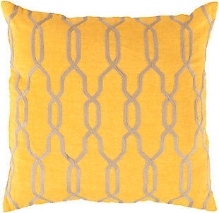 "Puerton Trellis Design 20"" Throw Pillow, , large"