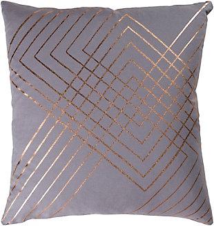 """Porton Geometric 18"""" Throw Pillow, , large"""