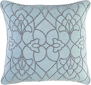"Dotted Pirouette Beaded 20"" Throw Pillow, , large"