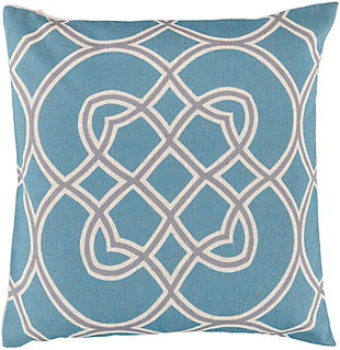 "Jorden Geometric Pattern 22"" Throw Pillow, , rollover"
