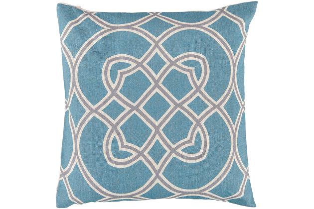 "Jorden Geometric Pattern 22"" Throw Pillow, , large"
