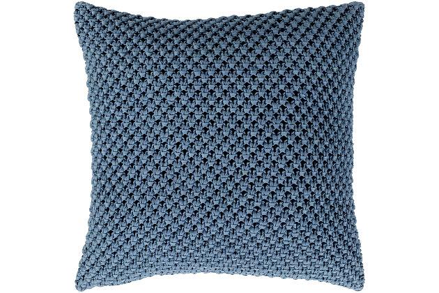 """Godavari Crochet 18"""" Throw Pillow, , large"""