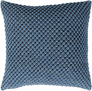 "Godavari Crochet 22"" Throw Pillow, , large"