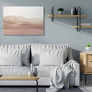 Stupell Desert Sand Dunes Landscape Beige White Sky 36 X 48 Canvas Wall Art, Beige, rollover