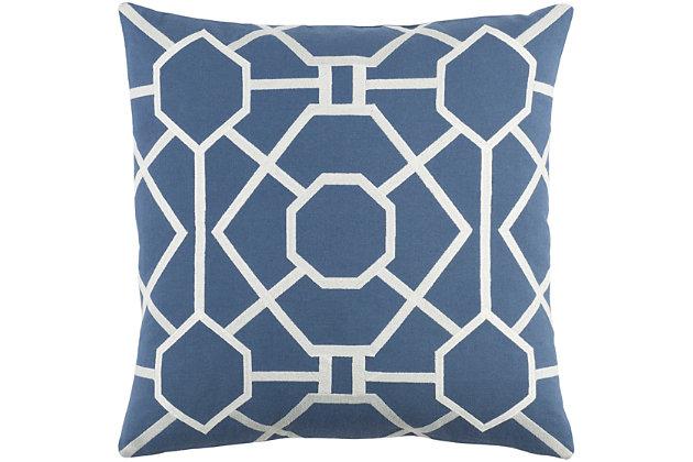 "Kingdom Porcelain 18"" Throw Pillow, , large"