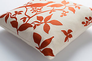 "Kingdom Birch Cream 18"" Throw Pillow, , rollover"