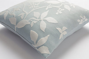 "Kingdom Birch Light Gray 18"" Throw Pillow, , rollover"