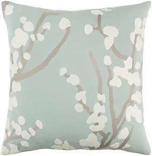 "Kingdom Anna Light Gray 18"" Throw Pillow, , large"