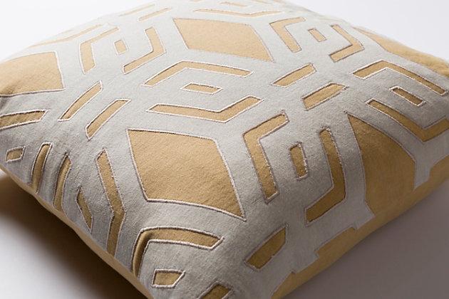 """Millbrook Geometric 20"""" Throw Pillow, , large"""