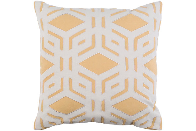 "Millbrook Geometric 22"" Throw Pillow, , large"