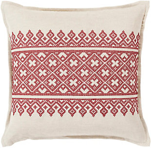 "Pentas Woven Print 22"" Throw Pillow, , rollover"