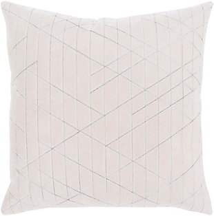 "Regan Velvet 22"" Throw Pillow, , rollover"