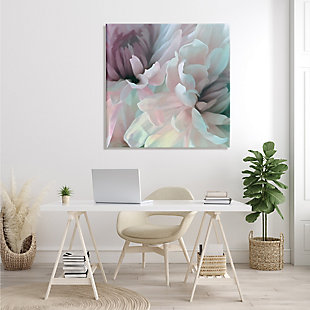 Stupell Pink Floral Petal Study Blush Tone Flowers 36 X 36 Canvas Wall Art, Pink, rollover