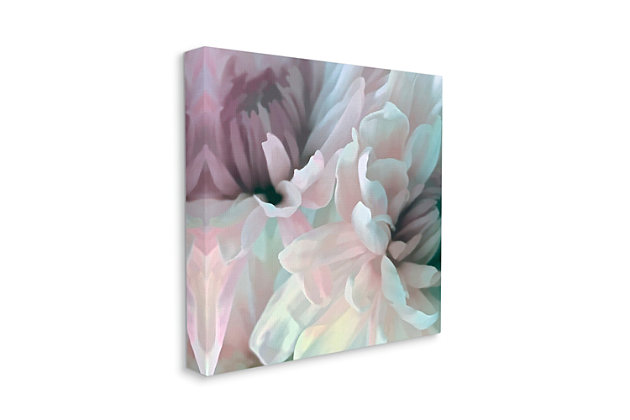 Stupell Pink Floral Petal Study Blush Tone Flowers 36 X 36 Canvas Wall Art, Pink, large