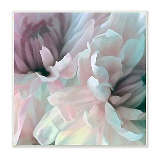 Stupell Pink Floral Petal Study Blush Tone Flowers 12 x 12 Wood Wall Art, , large