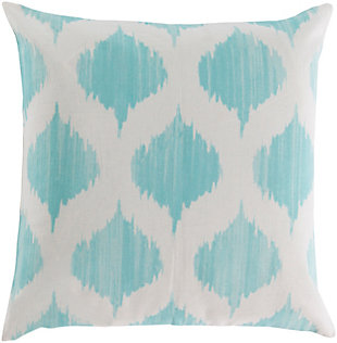 "Ogive Ikat Print 22"" Throw Pillow, , large"