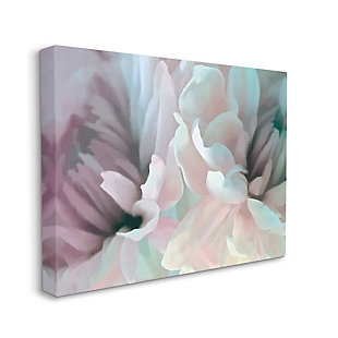 Stupell Full Bloom Floral Petals Alluring Spring Flower 36 x 48 Canvas Wall Art, Pink, large