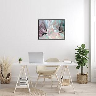 Stupell Full Bloom Floral Petals Alluring Spring Flower 24 X 30 Framed Wall Art, Pink, rollover