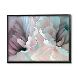 Stupell Full Bloom Floral Petals Alluring Spring Flower 24 X 30 Framed Wall Art, Pink, large