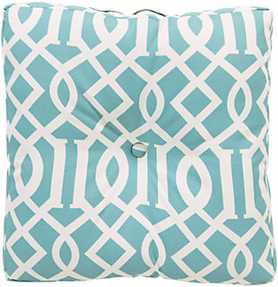"Sally Lattice 22"" Outdoor Cushion, , large"