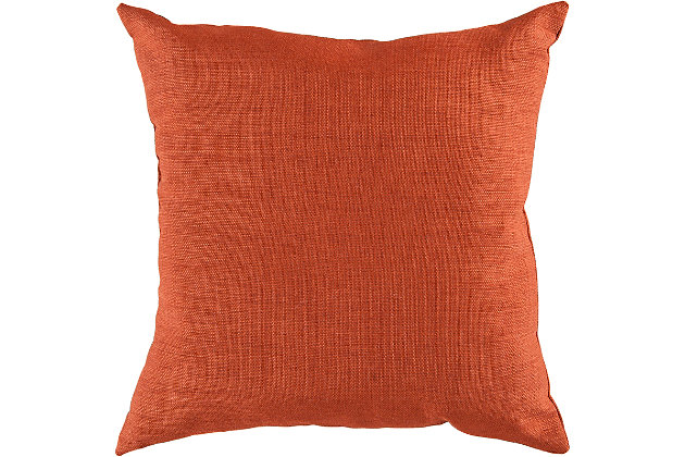 """Sally Woven 18"""" Indoor/Outdoor Throw Pillow, , large"""