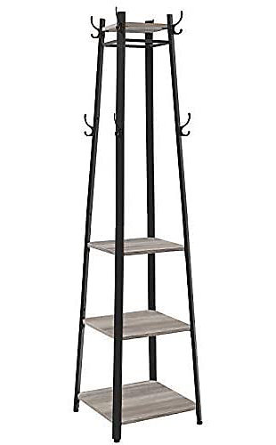VASAGLE Stand with 3 Shelves, , large