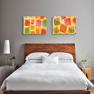 Ordine Apparente Sparso 11x14 Acrylic Wall Art Print Set, Multi, rollover