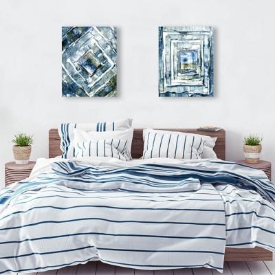 Xolog Omega 11x14 Acrylic Wall Art Print Set, Multi, large