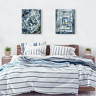 Xolog Omega 11x14 Canvas Wall Art Print Set, Multi, rollover