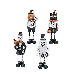 Resin Halloween Figurines (Set of 4), , rollover