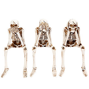 Skeleton Shelf Sitters (Set of 3), , rollover