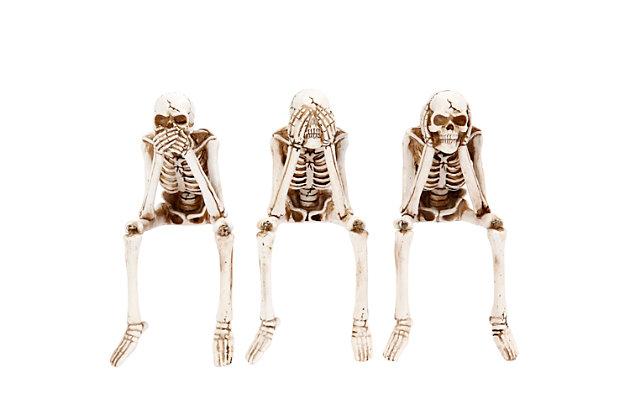 Skeleton Shelf Sitters (Set of 3), , large