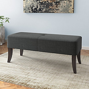 CorLiving Antonio Upholstered Bench, , rollover